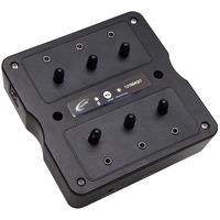 Califone 1216BKBT Bluetooth 6 Position Jackbox, 3.5mm Plug - Black for Headset, Headphone, Smartphone, Tablet PC, PC