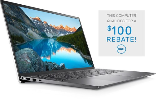 Dell Inspiron 15 5510 Laptop Computer Config 2 Non-Touch - i5-11300H-16-256GB Platinum Silver 15.6in FHD 1 Year Onsite Warranty BTS 2021