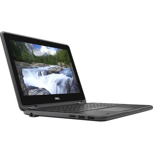 "Dell Latitude 3000 3190 11.6"" Touchscreen 2 in 1 Notebook - HD - 1366 x 768 - Intel Pentium N5030 Quad-core (4 Core) - 4 GB RAM - 128 GB SSD - Windows 10 Pro Education - Intel UHD Graphics 605 - English (US) Keyboard - 11 Hour Battery Run Time - IEEE 802.11ac Wireless LAN Standard"