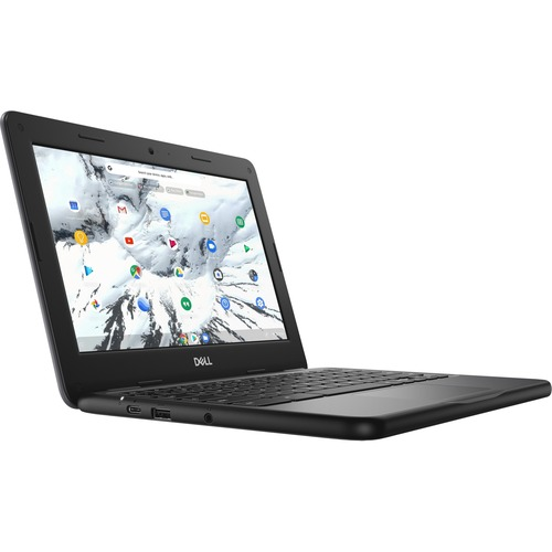 "Dell Chromebook 11 3000 3100 11.6"" Touchscreen Rugged 2 in 1 Chromebook - HD - 1366 x 768 - Intel Celeron N4020 Dual-core (2 Core) - 4 GB RAM - 32 GB Flash Memory - Gray - Intel Chip - Chrome OS - Intel HD Graphics - English Keyboard - 13 Hour Battery Run Time - IEEE 802.11ac Wireless LAN Standard"