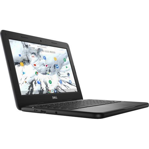 "Dell Chromebook 11 3000 3100 11.6"" Rugged Chromebook - HD - 1366 x 768 - Intel Celeron N4020 Dual-core (2 Core) - 4 GB RAM - 32 GB Flash Memory - Intel Chip - Chrome OS - Intel HD Graphics - English (US) Keyboard - 14 Hour Battery Run Time - IEEE 802.11ac Wireless LAN Standard"