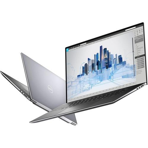 "Dell Precision 5000 5760 17"" Mobile Workstation - Full HD Plus - 1920 x 1200 - Intel Core i7 (11th Gen) i7-11850H Octa-core (8 Core) 2.50 GHz - 32 GB RAM - 512 GB SSD - Gray - Intel WM590 Chip - Windows 10 Pro - NVIDIA RTX A3000 with 6 GB - English (US) Keyboard - IEEE 802.11ax Wireless LAN Standard"