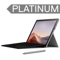 Surface Pro 7+ Bundle i5/16/256GB Platinum- Type Cover/Pen