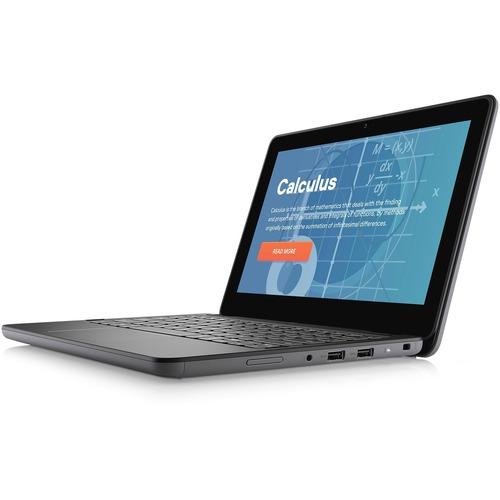 "Dell Latitude 3000 3120 11.6"" Netbook - HD - 1366 x 768 - Intel Pentium Silver N6000 Quad-core (4 Core) 1.10 GHz - 4 GB RAM - 128 GB SSD - Titan Gray - Intel Chip - Windows 10 Pro Education - Intel UHD Graphics - English (US) Keyboard - 10 Hour Battery Run Time - IEEE 802.11ax Wireless LAN Standard"