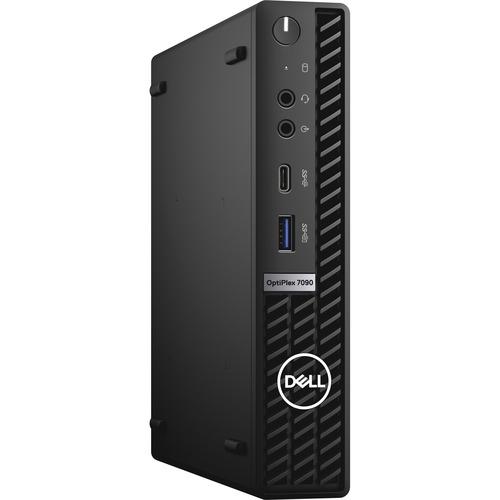 Dell OptiPlex 7000 7090 Desktop Computer - Intel Core i7 11th Gen i7-11700T Octa-core (8 Core) 1.40 GHz - 16 GB RAM DDR4 SDRAM - 512 GB M.2 PCI Express NVMe 3.0 x4 SSD - Micro PC