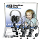 Lab Pack, 12 HA2 Personal Headphones in a Laminated Cardboard Carry Case
