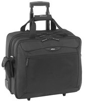 "15"" Rolling Travel Case for Laptops (Black)"