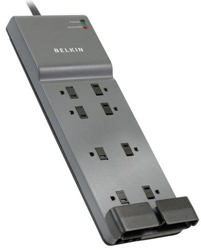 Belkin Surge Suppressor 8-outlet with Phone/Modem Protection