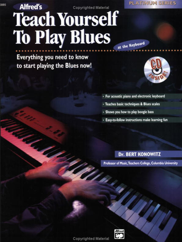 Teach Yourself to Play Blues at the Keyboard will have you playing the authentic sounds of the blues right from the beginning. It can be used with acoustic piano or electronic keyboard and teaches basic techniques and blues scales.  FORMAT: Book & CD