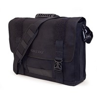 "15.4"" Canvas ECO Messenger Bag (Black)"