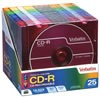 52X 80-Minute Colors CD-R Discs (25-Pack With Matching Slim Cases)