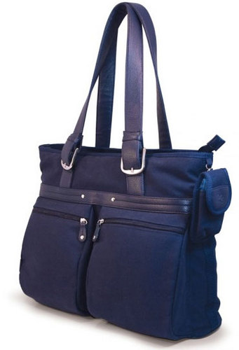 """16"""" The Eco-Friendly Tote (Navy)"""