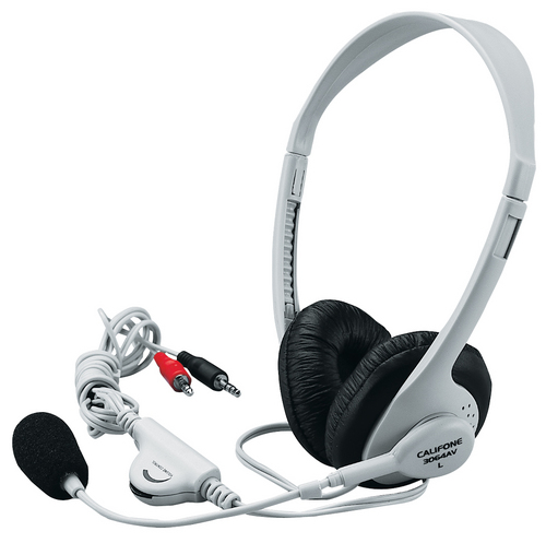 Califone 3064AV Multimedia Stereo Headset