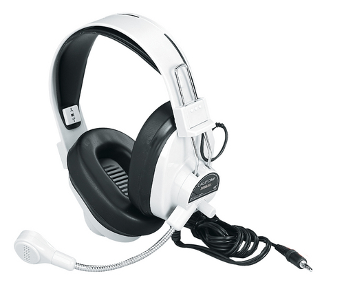 3066AV Deluxe Stereo Headphones with Boom Microphone