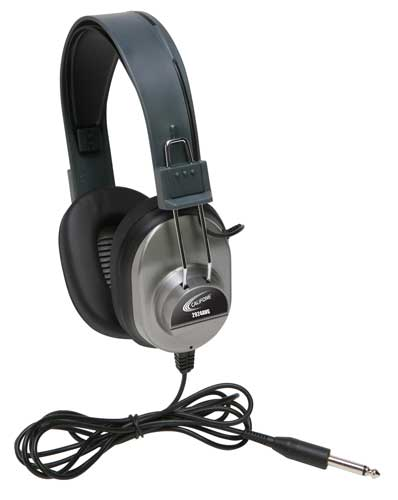 2924AVP Monaural Headphone (Gray)