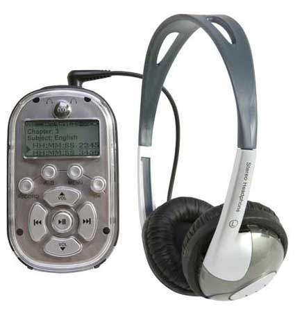 8101TS Pre-loaded MP3 Player Recorder with Early