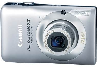 1389077.3603521 PowerShot SD1300 IS: The Canon Powershot SD1300 Review Justifies A Great Deal