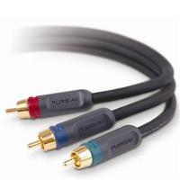 6' PureAV Blue Series Component Video Cable
