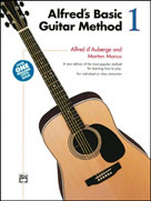 Alfred's Basic Guitar Method, Book 1 (Book & Enhanced CD)