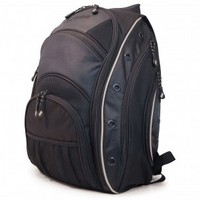 "16"" EVO Laptop Backpack (Black/Silver)"