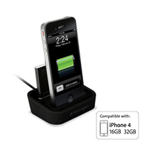 Charging Dock with Mini Battery Pack for iPod touch & iPhone