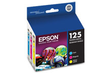 T125520 125 Color Ink Cartridge Multi-Pack