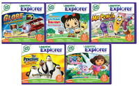 Leapster Explorer Kindergarten Software (4 Pack)