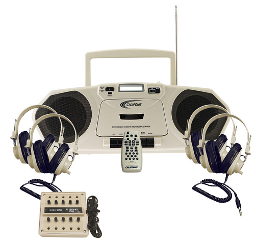 Califone Powered Boom Box Learning Center