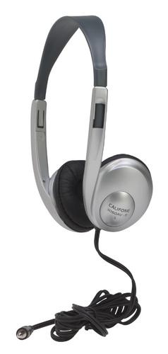 3060AV Multimedia Stereo Headphones (Silver)
