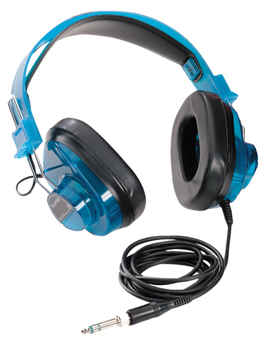 Califone 2924AVPS Stereo Headphones (Blueberry)