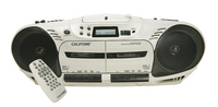 2455AV-03 Performer Plus Dual Cassette Player