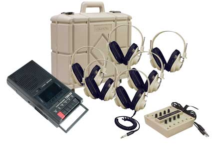 Califone 1300PLC 6-Person Budget Learning Center