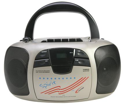 Califone Spirit Multimedia Player/Recorder
