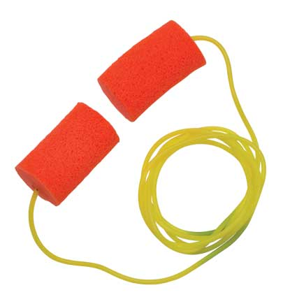 Hearing Safe Foam Earplugs (200 Pairs)