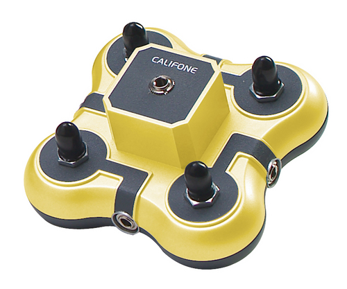 Califone Mini Stereo Jackbox 1114 Yellow