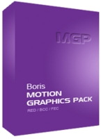 Boris Motion Graphics Pack for Avid Media Composer Academic for Windows (Electronic Software Delivery)