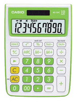 Casio MS10VC Basic Calculator (Green)