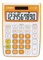 Casio MS10VC Basic Calculator (Orange)