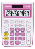 Casio MS10VC Basic Calculator (Pink)