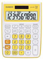 Casio MS10VC Basic Calculator (Yellow)