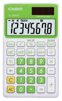 Casio SL-300VC Basic Calculator (Green)