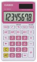 Casio SL-300VC Basic Calculator (Pink)
