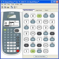SmartView Emulator Software for TI-30X/34 MultiView Teacher Pack (Single User CD)