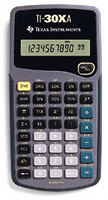 TI-30Xa Scientific/Fraction Calculator