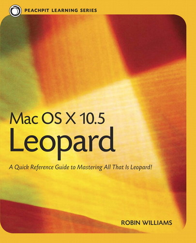 Mac OS X 10.5 Leopard Peachpit Learning Series