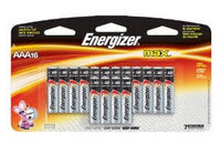 Energizer Max AAA Alkaline Batteries (16 Pack)