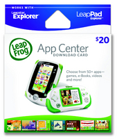 Leapster Explorer Leaplet Download Card