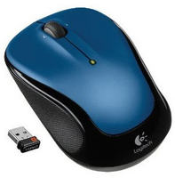M325 Wireless Mouse with Designed-For-Web Scrolling (Blue)