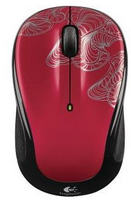 M325 Wireless Mouse with Designed-For-Web Scrolling (Red)