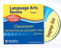 Grade 1 ELA Interactive Review Question CD (Site License)